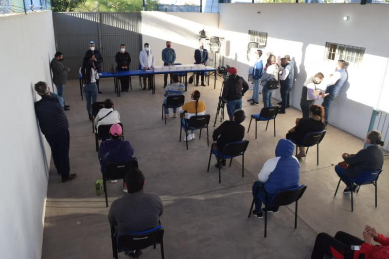 Dona 700 pruebas rápidas para covid-19, GPO al Puerto de Topolobampo