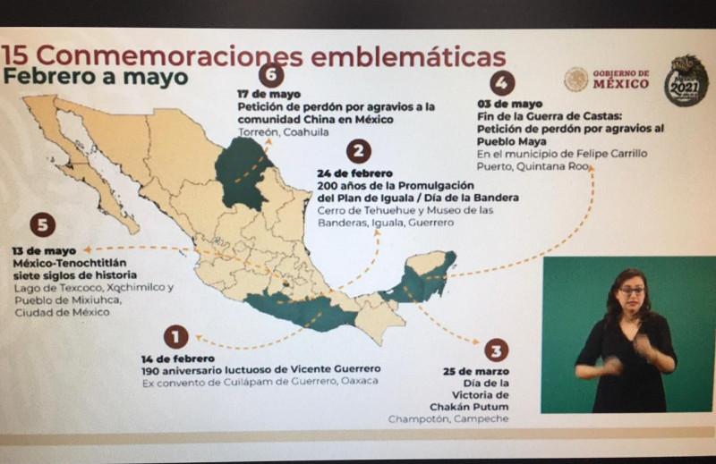 Gobierno Federal presento los 15 eventos emblemáticos de México para este 2021