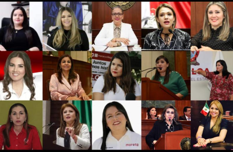 Partidos políticos regatean el poder para las mujeres en Sinaloa