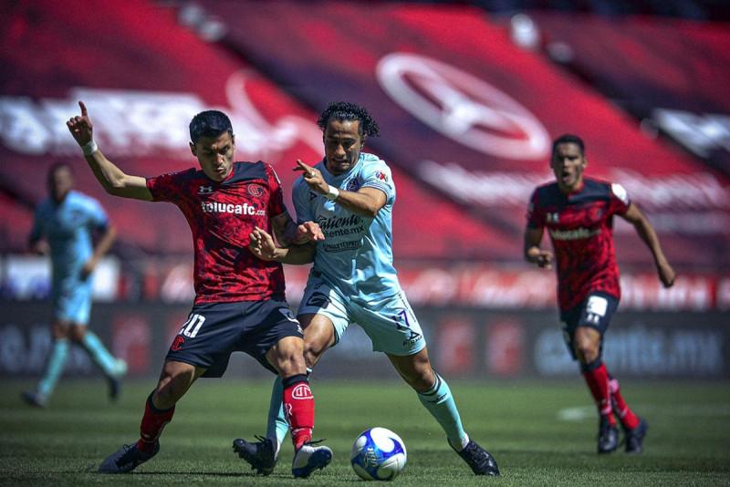 Mazatlán FC se lleva una goleada en Toluca