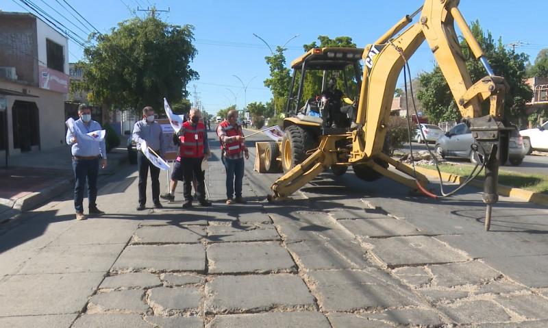 Arrancan programa de pavimentación en Los Mochis