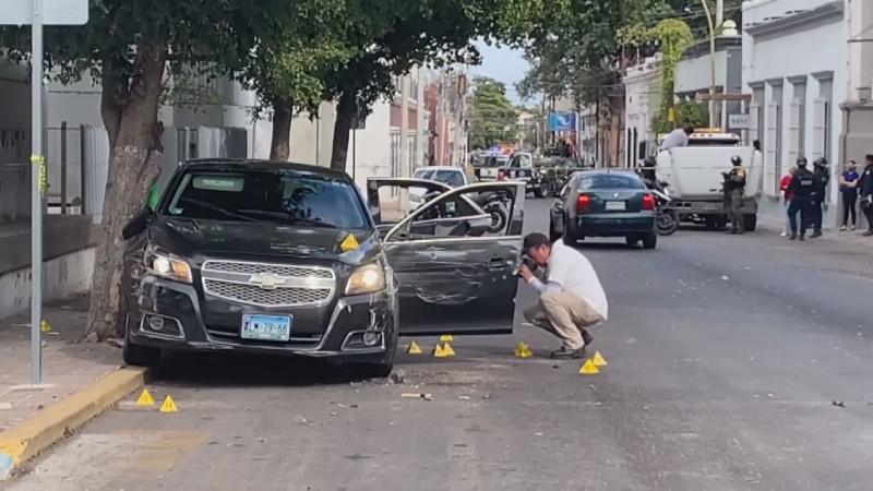 Confirma SSP que familia resultó lesionada durante ataque en centro de Culiacán
