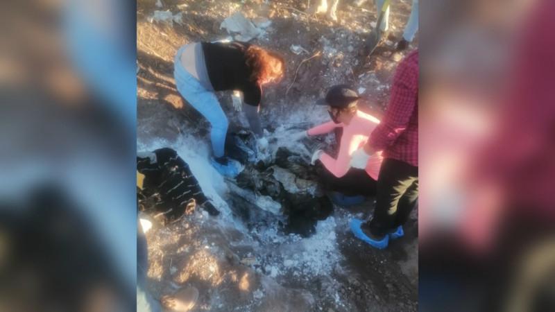 El cuerpo de dos mujeres y un hombre localizan Rastreadoras de Ciudad Obregón