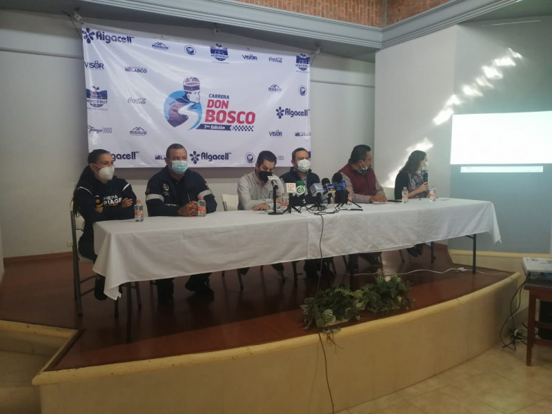 Anuncia la carrera Virtual Don Bosco en su séptima edición