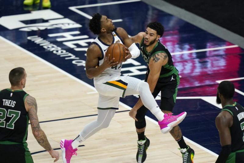 El Jazz vence a los Celtics