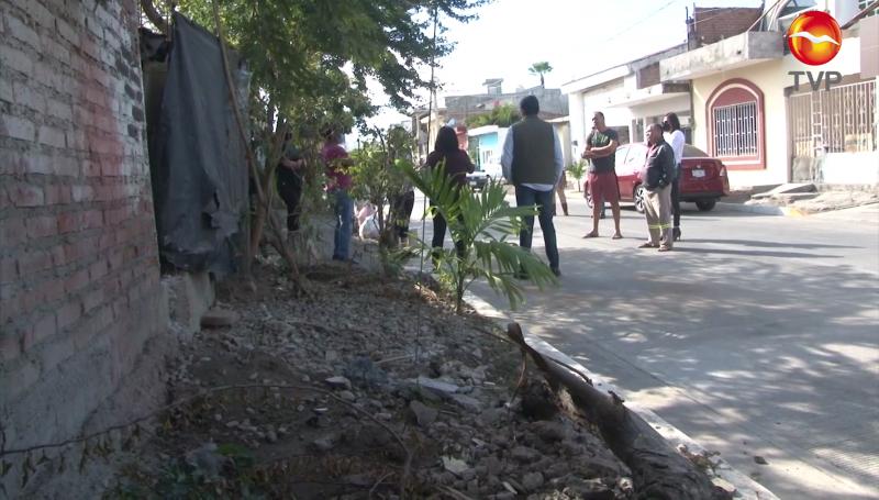 Les llega la pavimentación a su calle, pero de forma inconclusa en Mazatlán