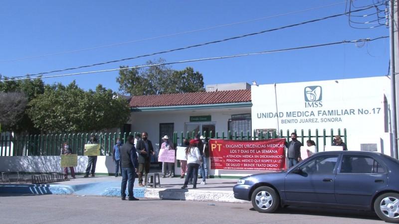 Se manifestó el PT en Benito Juárez contra el IMSS