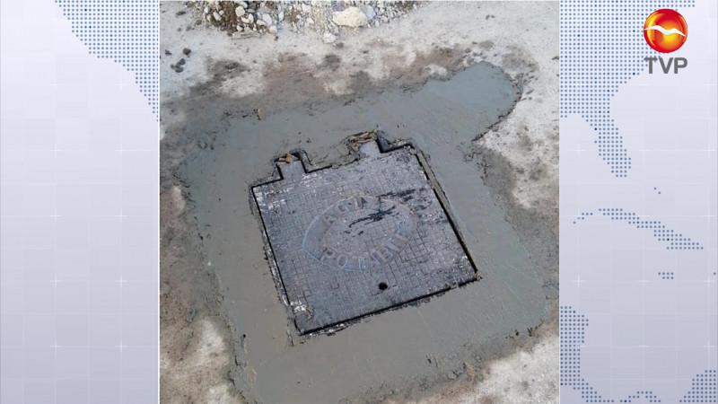 Se roban las tapas metálicas de válvulas de JUMAPAM