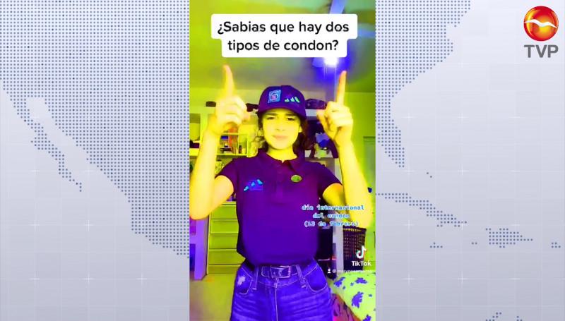 Llevan mensaje mediante redes sociales sobre uso responsable del condón