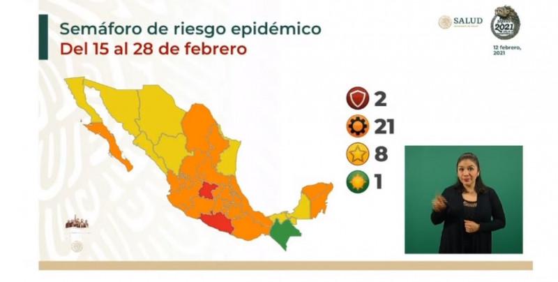 Sinaloa y Sonora regresan a color amarillo en el Semáforo de Riesgo Epidémico Nacional