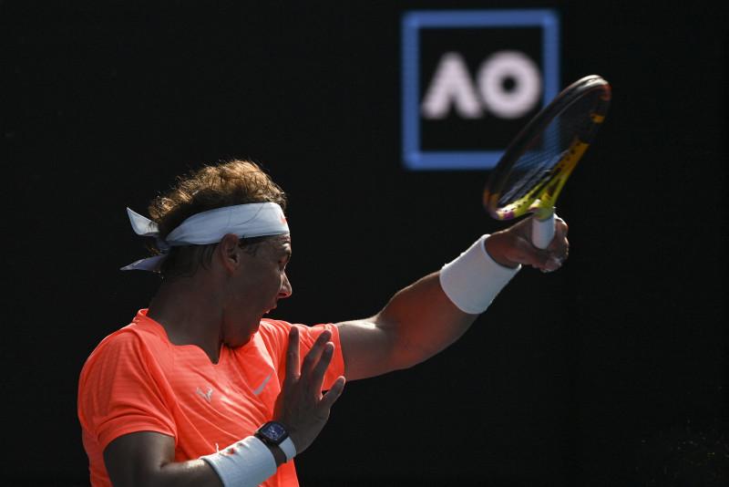 Rafael Nadal vence a Fognini en el Abierto de Australia