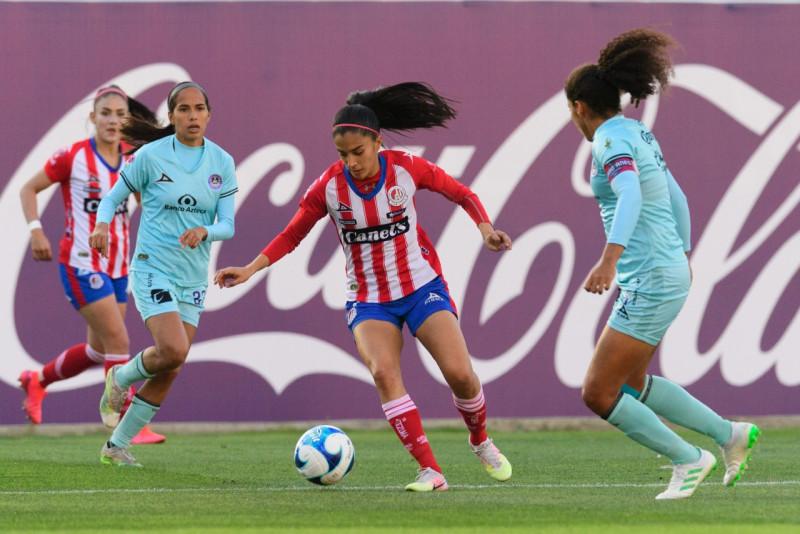 Mazatlan FC Femenil es derrotado por 3 goles a 0 por Atl. San Luis