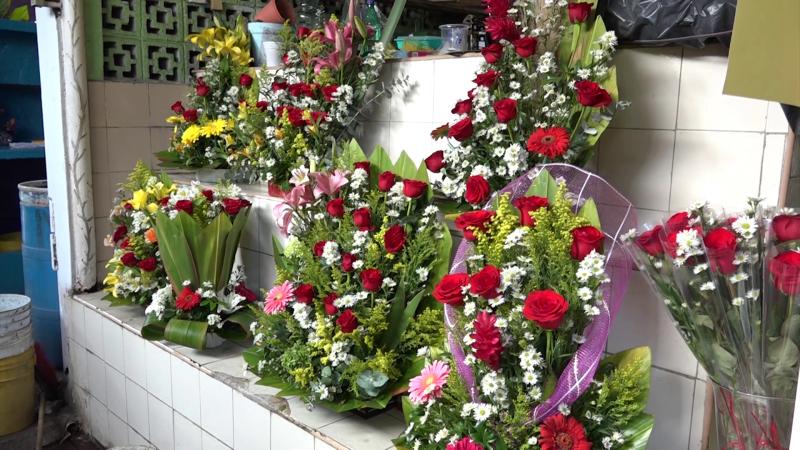 Se cayeron las ventas de flores en San Valentín