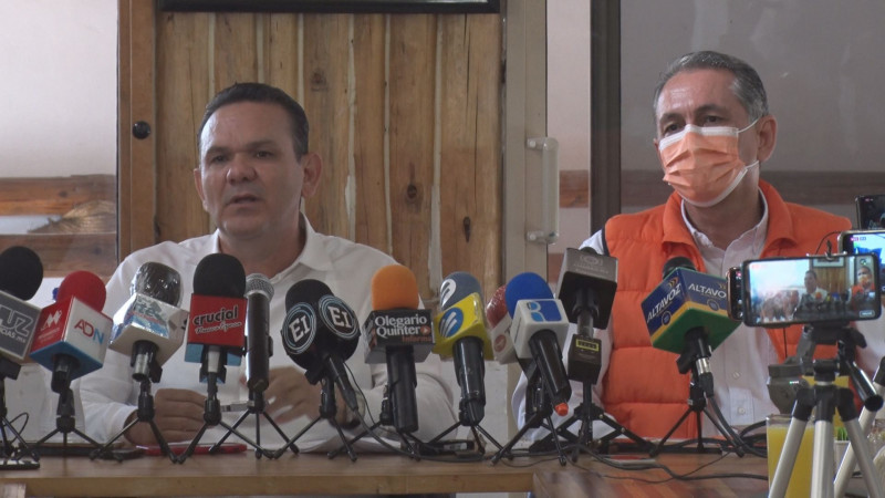 Vacuna COVID en Sinaloa es una dádiva a favor de Rocha Moya dice Sergio Torres