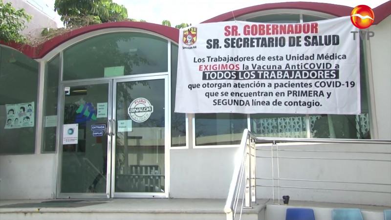 Se suman a la protesta por vacunas, también en Mazatlán