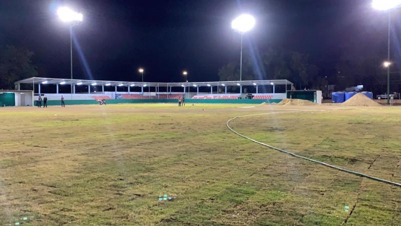 Buen avance en la remodelación de la Unidad Deportiva Julio Urías
