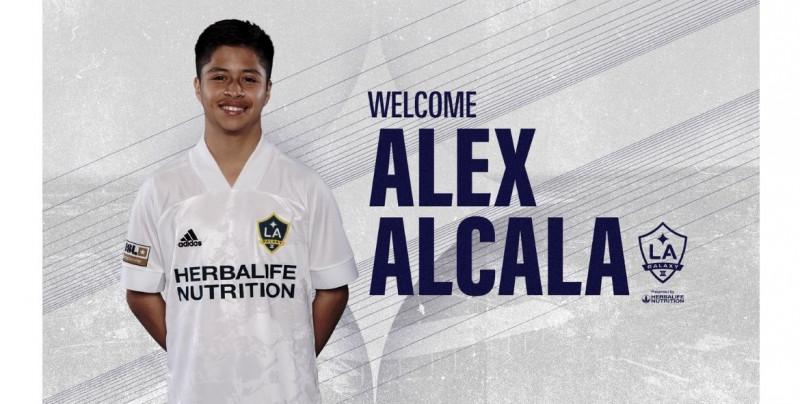 """Alex Alcalá, el """"Messi mexicano"""" firma con el Galaxy de Los Ángeles a sus 15 años"""