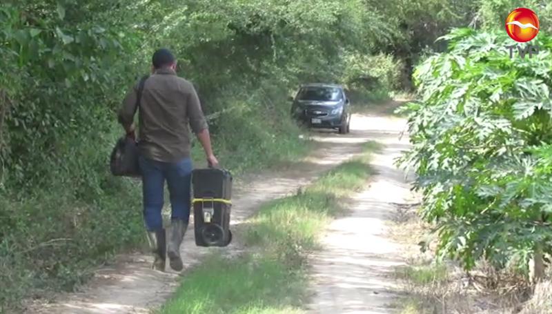 Encuentran restos humanos en camino al Roble