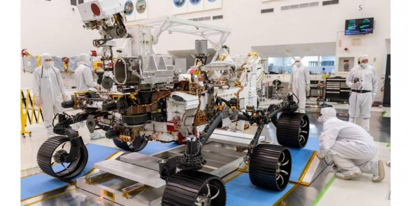 Hoy la NASA transmitirá por primera vez en español y será con la llegada de un robot a Marte