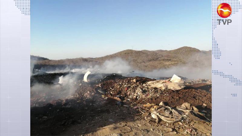 Una vez más... se incendia el Basurón Municipal en Mazatlán