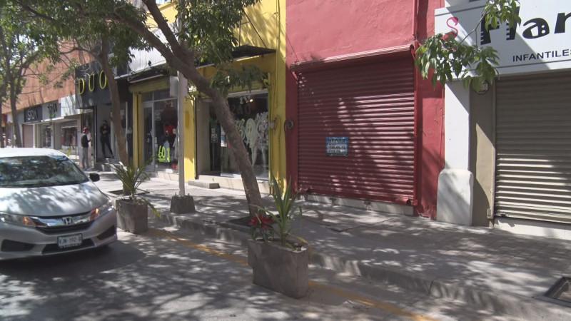 Más de 3 mil locales han cerrado por la pandemia en Culiacán