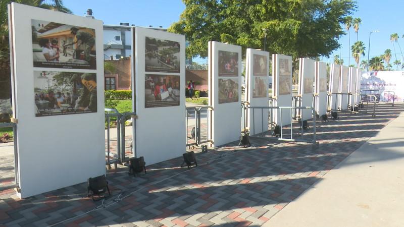 Celebran el 108 aniversario del ejercito mexicano con muestra fotográfica