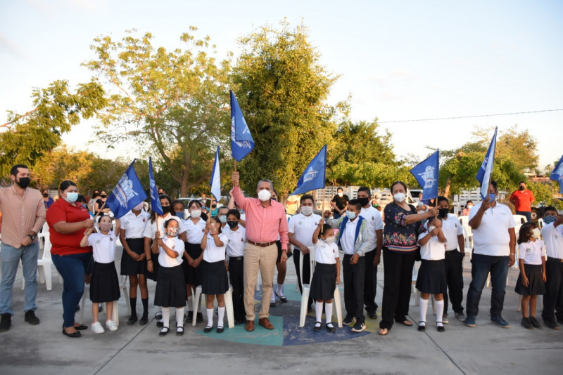 Primaria de Los Ojitos, Rosario tendrá techumbre