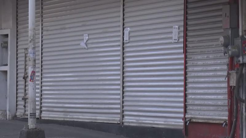 Crece el cierre de negocios en Mazatlán