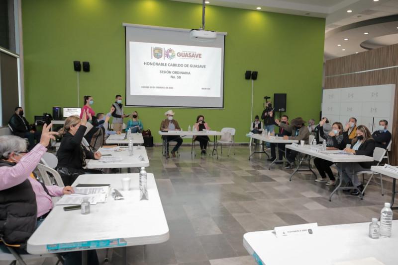 Cabildo de Guasave respalda la municipalización de Juan José Ríos