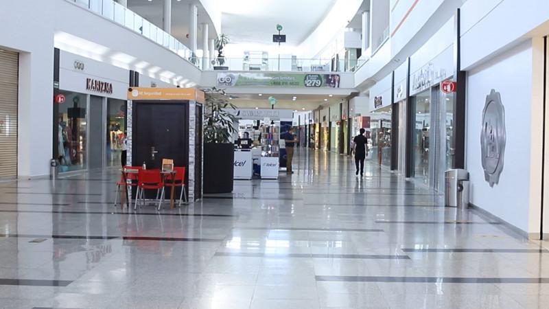 Buscan más aforo para plazas comerciales con la nueva normalidad