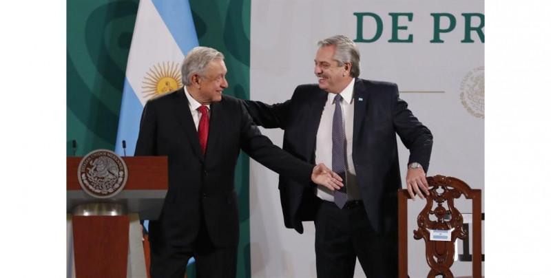 """México y Argentina deben crear """"eje"""" que una el continente, asegura el presidente de Argentina"""