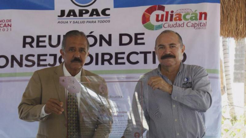 JAPAC recibió  placa  por mantener durante 15 años consecutivos, la certificación ante la norma ISO 9001
