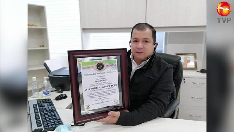 Es Cristhian Aldo Muñoz un 'Héroe Por México'