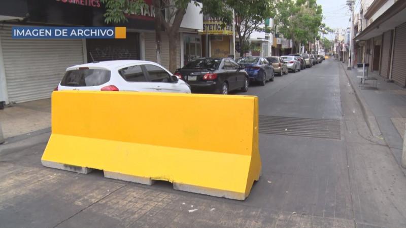 JEF se va sin resolver el problema de los comerciantes del centro con las calles cerradas