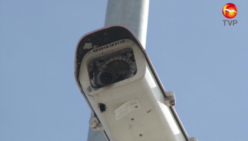 Balean cámaras de video vigilancia en Mazatlán