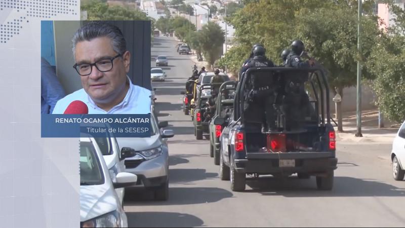 Por tres años consecutivos Sinaloa muestra un baja en la incidencia delictiva