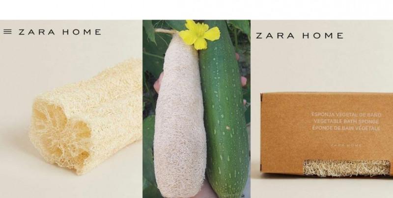 ¿Estropajos de lujo? Zara vende esponjas corporales naturales a 300 pesos