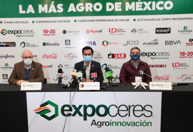 Expo Ceres 2021, con mucho que ofrecer a los agricultores de la región y México