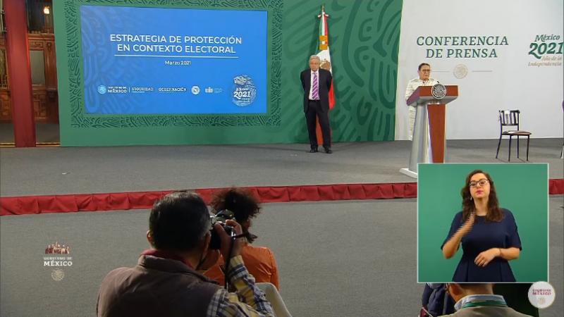 AMLO da a conocer plan de seguridad para proteger a las y los candidatos en México