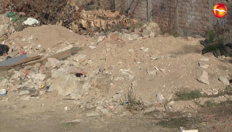 Terreno baldío en la Col. Fco. I Madero, funciona como basurero clandestino