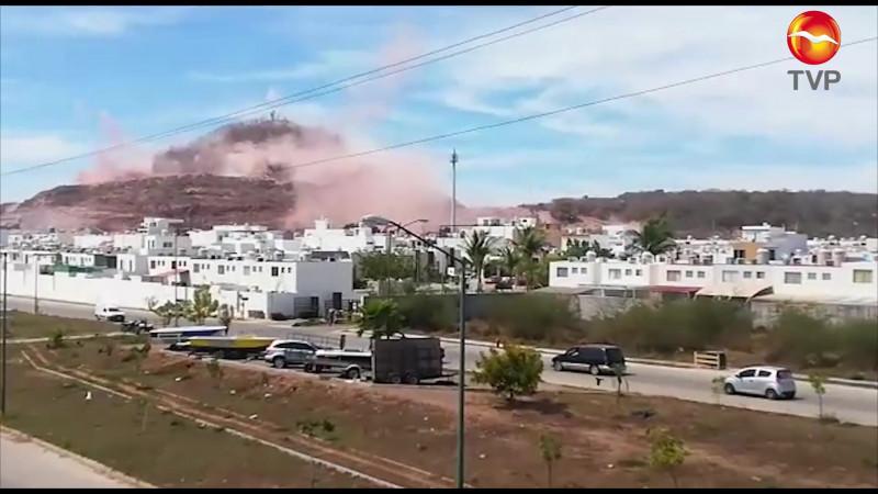 Con dinamita, provocan temblor en Real del Valle