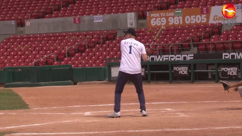 Quirino Ordaz en juego amistoso en Mazatlán