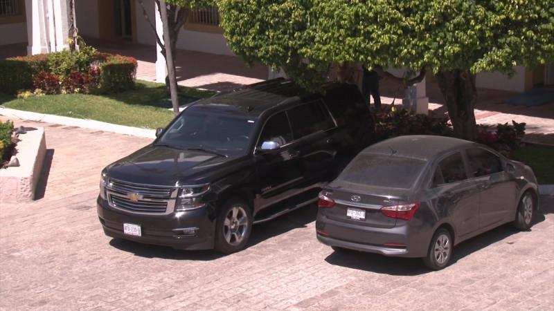 Sin usarse camioneta de lujo en Ayuntamiento de Mazatlán