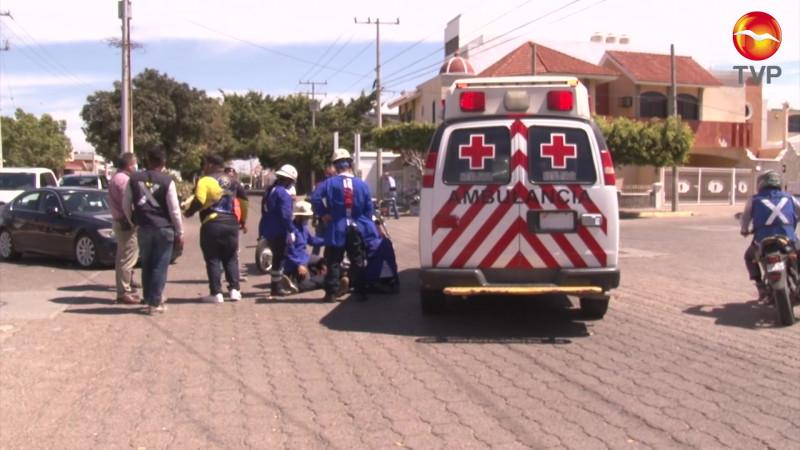 Resulta lesionado en accidente registrado en Lomas de Mazatlán