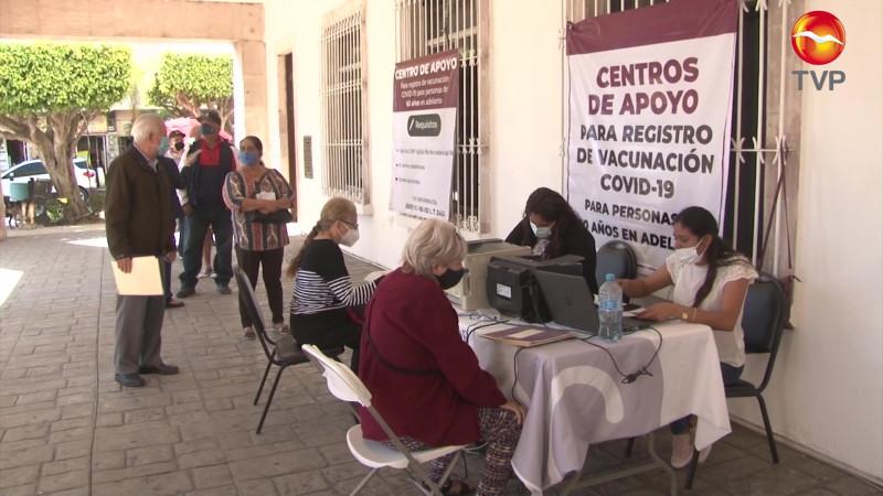 Sin llegar a la meta registro de adultos mayores para vacuna en Mazatlán