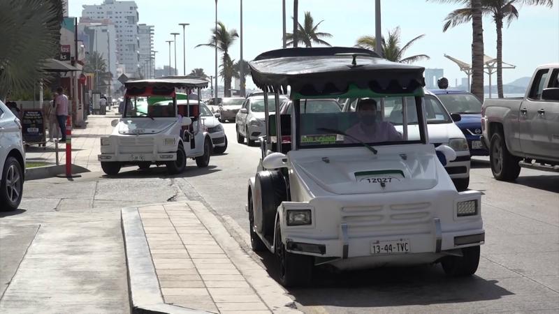 Transportistas piden espacios para subir y bajar pasaje en zona turística