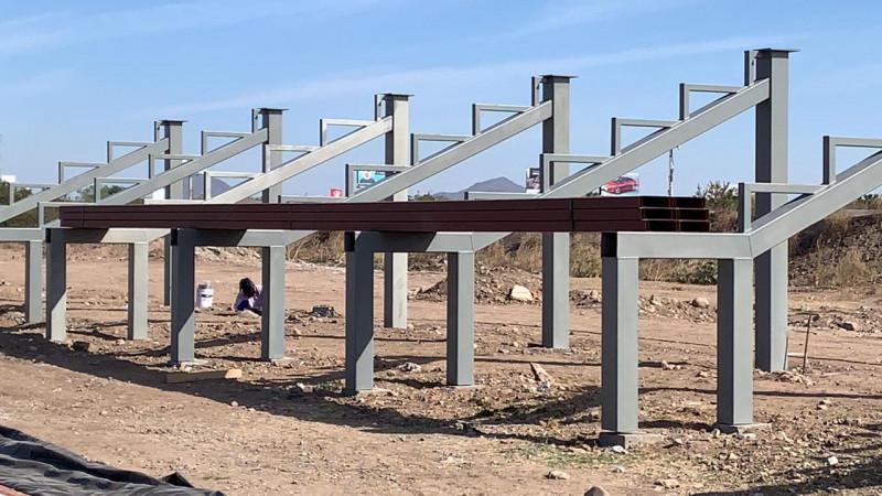 PIDS Inicia los trabajos de construcción de gradas del Centro de Atletismo en Sinaloa