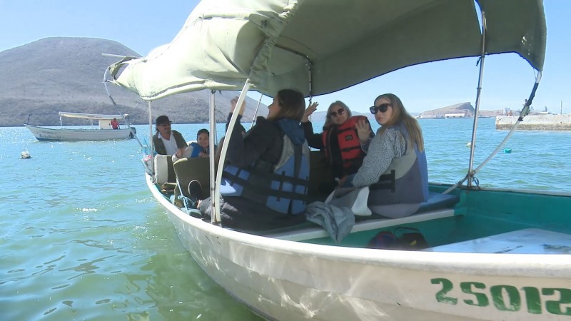 Aumentan los paseos en lancha en Topolobampo: Prestadores de Servicios Turísticos