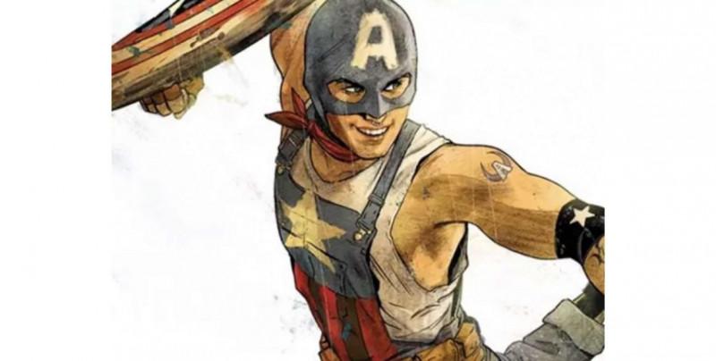 """Aaron Fisher, el """"Capitán América"""" que sacará Marvel y será abiertamente gay"""