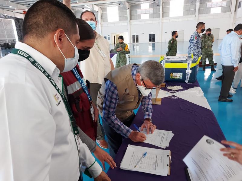 Son 20 mil vacunas SINOVAC para adultos mayores de El Fuerte y Sinaloa